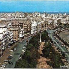 Postales: == P1726 - POSTAL - CADIZ - AVENIDA RAMON DE CARRANZA. Lote 194516998