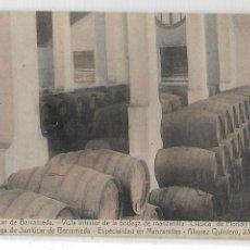 Postales: SANLÚCAR DE BARRAMEDA - BODEGA DE MANZANILLA CLÁSICA DE FLORIDO HERMANOS - P27142. Lote 194518827