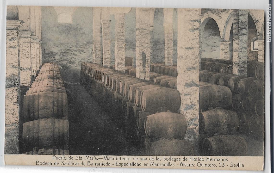 PUERTO DE SANTA MARÍA - BODEGAS DE FLORIDO HERMANOS - P27142 (Postales - España - Andalucía Antigua (hasta 1939))