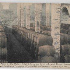 Postales: PUERTO DE SANTA MARÍA - BODEGAS DE FLORIDO HERMANOS - P27142. Lote 194519056
