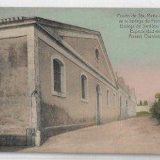 Postales: PUERTO DE SANTA MARÍA - BODEGAS DE FLORIDO HERMANOS - P27142. Lote 194519111