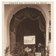 Postales: SEVILLA - EXPOSICIÓN - PABELLÓN DE CHILE - NITREATO DE CHILE - P27142. Lote 194540935