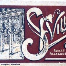 Postales: P-10057. SEVILLA, REALES ALCAZARES. BLOC DE 20 POSTALES.SIN CIRCULAR,.FOTOGRAFO L. ROISIN. Lote 194551437