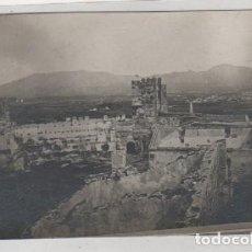 Postales: POSTAL FOTOGRÁFICA FUENGIROLA RUINAS DEL CASTILLO. MATASELLO GRUPO DE BIENHECHORES DE FUENGIROLA. . Lote 194566795