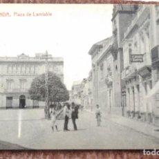Postales: RONDA - PLAZA DE LAMIABLE - FOTOTIPIA THOMAS. Lote 194570186