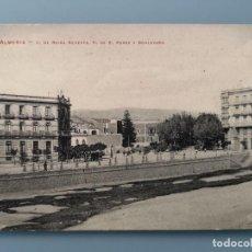 Postales: POSTAL ALMERIA Nº 12 C REINA REGENTE P DE PEREZ Y BOULEVARD COLEC TALCOSE ANDALUCIA PERFECTA CONSERV. Lote 194591261