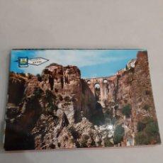 Postales: LIBRETO 12 POSTALES RONDA MALAGA ANDALUCÍA. Lote 194599681