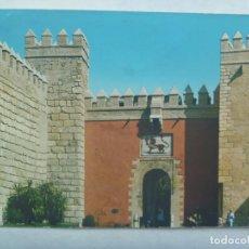 Postales: POSTAL DE SEVILLA : FACHADA DEL ALCAZAR. Lote 194626108