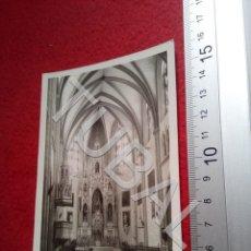 Postales: TUBAL CHIPONA CADIZ POSTAL VISTA INTERIOR DEL SANTUARIO DE LA VIRGEN DE REGLA 1957 B47. Lote 194684875
