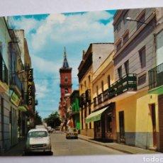 Postales: POSTAL 5 PEÑARROYA PUEBLO NUEVO CÓRDOBA CALLE QUEIPO DE LLANO ED ARRIBAS. Lote 194689191
