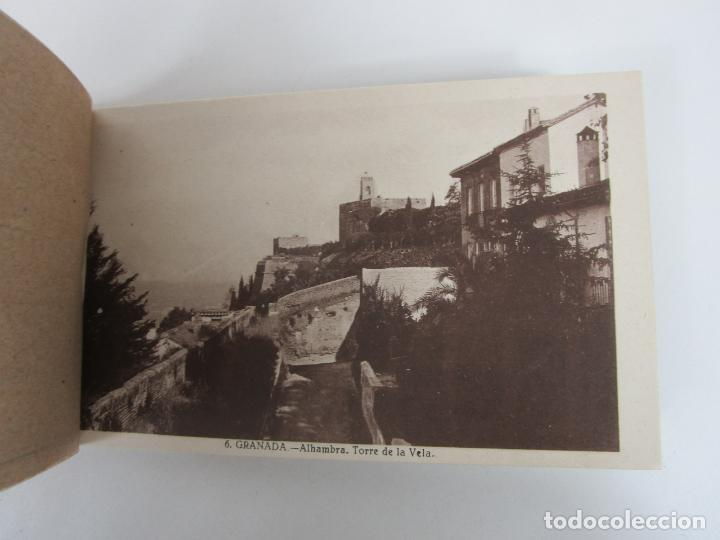 Postales: Álbum Postal - Granada, Serie 1ª - 20 Postales - Grafos, Madrid Sucesor de Casso, Granada - Foto 2 - 194749707