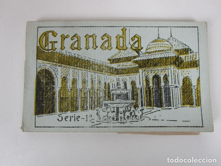 Postales: Álbum Postal - Granada, Serie 1ª - 20 Postales - Grafos, Madrid Sucesor de Casso, Granada - Foto 5 - 194749707