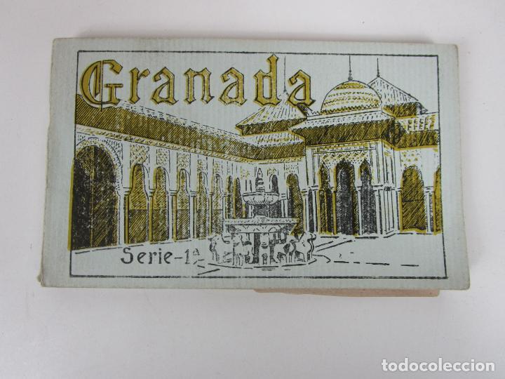 ÁLBUM POSTAL - GRANADA, SERIE 1ª - 20 POSTALES - GRAFOS, MADRID SUCESOR DE CASSO, GRANADA (Postales - España - Andalucía Antigua (hasta 1939))