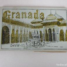 Postales: ÁLBUM POSTAL - GRANADA, SERIE 1ª - 20 POSTALES - GRAFOS, MADRID SUCESOR DE CASSO, GRANADA. Lote 194749707