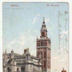 Postales: POSTAL SEVILLA LA GIRALDA ESCRITA EN 1914 -R-5. Lote 194880705