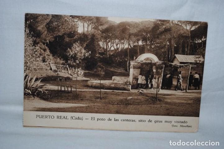 PUERTO REAL, CADIZ , POZO DE LAS CANTERAS . (Postales - España - Andalucía Antigua (hasta 1939))