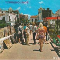 Postales: (22) TORREMOLINOS. LA NOGALERA. MERCADILLO DE PINTURAS. Lote 194890761