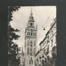 Postales: POSTAL CIRCULADA - SEVILLA 27 - LA GIRALDA - EDITA HELIOTIPIA ARTISTICA. Lote 194928375