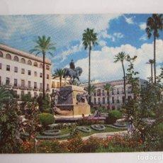 Postales: POSTAL CADIZ - JEREZ DE LA FRONTERA - PLAZA REYES CATOLICOS - 1962 - JEREZ INDUSTRIAL D 561. Lote 194932456