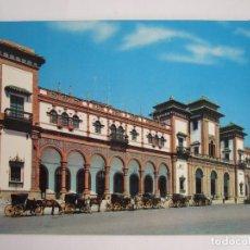 Postales: POSTAL CADIZ - JEREZ DE LA FRONTERA - ESTACION FERROCARRIL- 1966 - EDICIONES AGM 9010 - SIN CIRCULAR. Lote 194932808