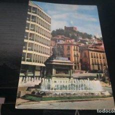 Postales: POSTAL DE GRANADA PLAZA DE ISABEL LA CATOLICA - BONITAS VISTAS- LA DE LA FOTO VER TODAS MIS POSTALES. Lote 194938250