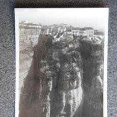 Postales: RONDA MÁLAGA LOTE 2 POSTALES FOTOGRÁFICAS ANTIGUAS. Lote 194943701