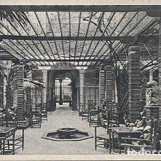 Postales: X123102 ANDALUCIA SEVILLA HOTEL MADRID WINTER PATIO PATIO D' HIVER. Lote 194947110