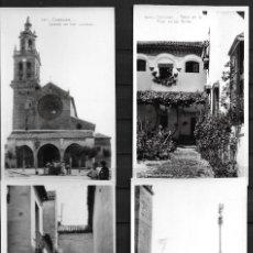 Postales: 9 ESTAMPAS DE CÓRDOBA,EDICIONES UNIQUE, AÑOS 30,BLANCO Y NEGRO, SIN CIRCULAR, FOTOS LUIS R. ALONSO. Lote 195017391
