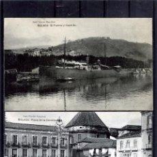 Postales: DOS POSTALES DE MALAGA ANTIGUAS-EDICIÓN JOSÈ FERER ESCOBAR-NUEVAS SIN CIRCULAR .. Lote 195027968