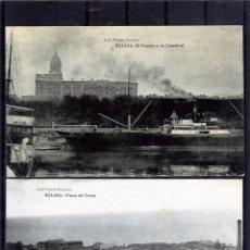 Postales: DOS POSTALES DE MALAGA ANTIGUAS-EDICIÓN JOSÉ FERRER ECOBAR-UNA FRANQUEADA LA OTRA NUEVA .. Lote 195029703