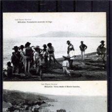 Postales: DOS POSTALES DE MALAGA ANTIGUAS-EDICIÓN JOSÈ FERRER ESCOBAR-NUEVAS SIN CIRCUALRA .. Lote 195031396