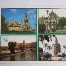 Postales: POSTAL SEVILLA - VARIOS ASPECTOS - 1990 - POSTALES GOMEZ 202 - SIN CIRCULAR. Lote 195033246