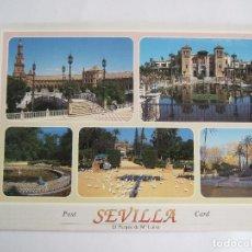 Postales: POSTAL SEVILLA - VARIOS ASPECTOS - 1997 - EDICIONES DAVID 1028 - SIN CIRCULAR. Lote 195033548