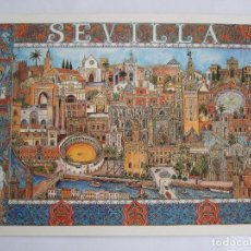 Postales: POSTAL SEVILLA - - 1992 - JORGE PEÑA 101 - SIN CIRCULAR. Lote 195033721