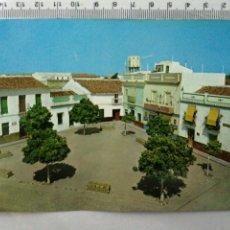 Postales: FOTO POSTAL SEVILLA SAN JOSÉ DE LA RINCONADA PLAZA DEL DR. RODRÍGUEZ MONTE. Lote 195051592