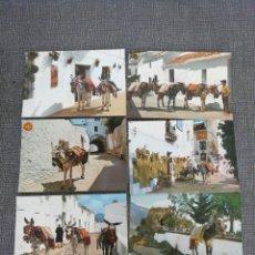 Postales: LOTE DE POSTALES 14 DE MIJAS. MÁLAGA. COSTA DEL SOL.. Lote 195094055