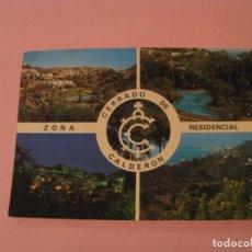 Postales: POSTAL DE MÁLAGA. ZONA RESIDENCIAL CERRADO DE CALDERÓN. ED. DELTA.. Lote 195136092
