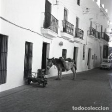 Postales: NEGATIVO ESPAÑA CÁDIZ VEJER DE LA FRONTERA 1970 KODAK 55MM NEGATIVE GRAN FORMATO SPAIN FOTO PHOTO. Lote 195181312