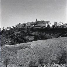 Postales: NEGATIVO ESPAÑA CÁDIZ VEJER DE LA FRONTERA 1970 KODAK 55MM NEGATIVE GRAN FORMATO SPAIN FOTO PHOTO. Lote 195181675