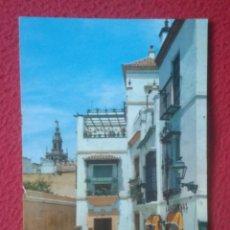 Postales: ANTIGUA POSTAL POST CARD SEVILLA BARRIO DE SANTA CRUZ OSCAR COLOR NO ESCRITA N/C LAS CADENAS ?? VER. Lote 195198065