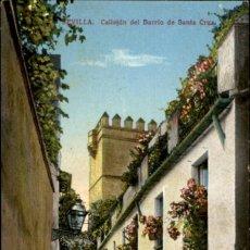 Postales: SEVILLA - CALLEJÓN DEL BARRIO DE SANTA CRUZ - C.R.S.. Lote 195263811