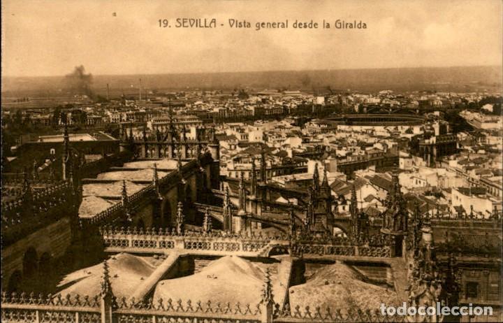 SEVILLA - VISTA GENERAL DESDE LA GIRALDA - ADELARDO LINARES (Postales - España - Andalucía Antigua (hasta 1939))