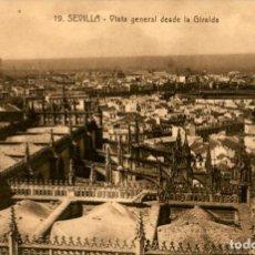 Postales: SEVILLA - VISTA GENERAL DESDE LA GIRALDA - ADELARDO LINARES. Lote 195263873