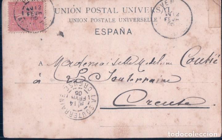 Postales: POSTAL PZ 7141 SEVILLA - UNA SEVILLANA - PHOTOGLOB ZURICH - CIRCULADA - SIN DIVIDIR - Foto 2 - 195272153