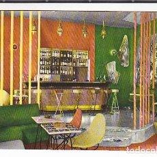 Postales: POSTAL MALAGA HOTEL EMPERATRIZ DETALLE DEL BAR . Lote 195272218