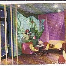 Postales: POSTAL MALAGA HOTEL EMPERATRIZ DETALLE DEL BAR . Lote 195272247