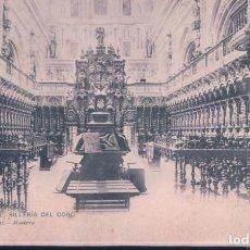 Postales: POSTAL 1093 HAUSER Y MENET CORDOBA - CATEDRAL - SILLERIA DEL CORO - CIRCULADA - SIN DIVIDIR. Lote 195273428