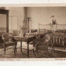 Postales: CÁDIZ. GRAN HOTEL VICTORIA. HABITACIÓN DE DOS CAMAS.. Lote 195275907