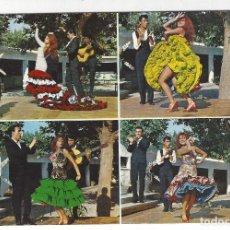 Postales: 1655 - ESPAÑA TIPICA .- BAILE ANDALUZ. Lote 195290545