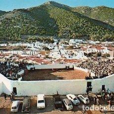 Postales: MIJAS - 1218 PLAZA DE TOROS Y VISTA PARCIAL. Lote 195302132